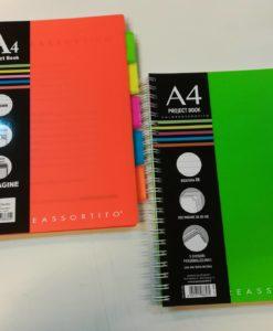 Blocco Project book Coloreassortito