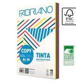 cOPY TINTA FABRIANO 80 GR. COLORI FORTI