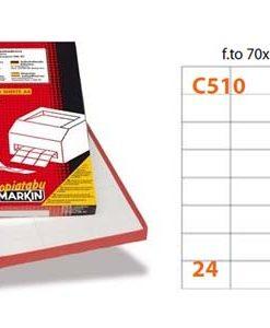 Etichette Markin C510