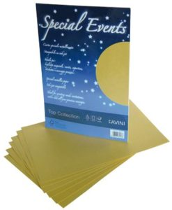 special events carta satinata oro 120gr