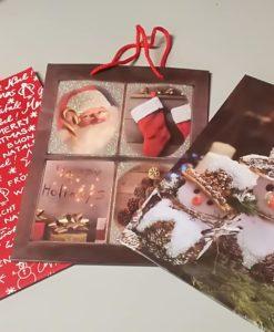 Busta regalo natalizia