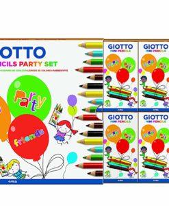 giotto mini pencils party set