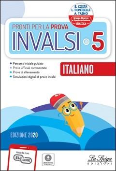 libro prove invalsi italiano classe 5 la spiga